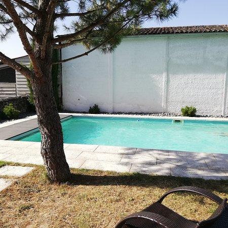 Tizac-de-Curton, France : La piscine