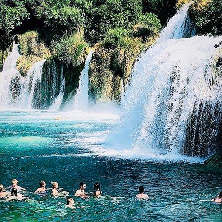 Krka National Park, Croacia: Waterfall of Krka