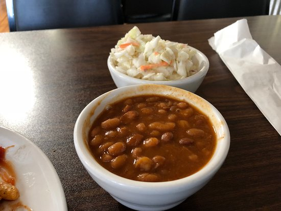 Mabelvale, AR: BBQ Beans and slaw