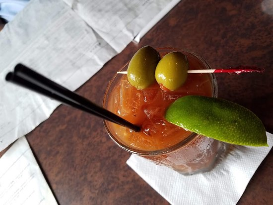 Kettering, OH: My tasty Bloody Mary.