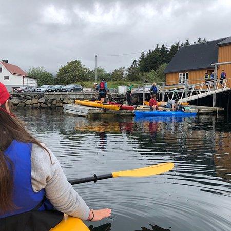 Bodo, Norway: Magnifique semaine de randonnée mais surtout de kayak de mer autour de Stamsund