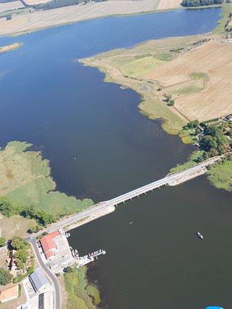 Lietzow, Γερμανία: Die Brücke von Rügen nach Ummanz