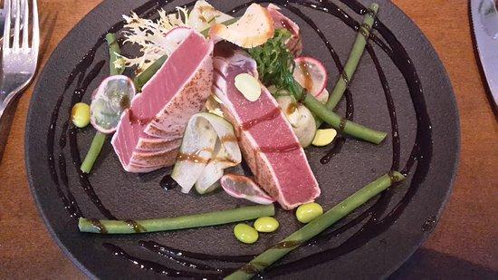 Markelo, Belanda: Tuna as a starter
