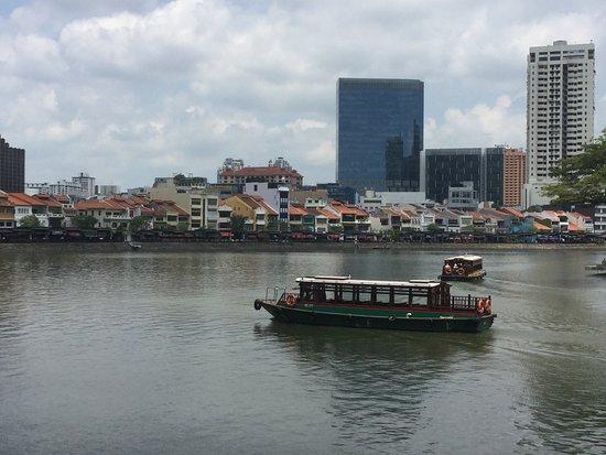 Boat Quay: シンガポール川