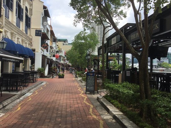 Boat Quay: 飲食店街