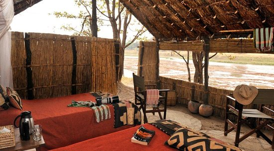 North Luangwa National Park, Zambia: Mwaleshi chalet