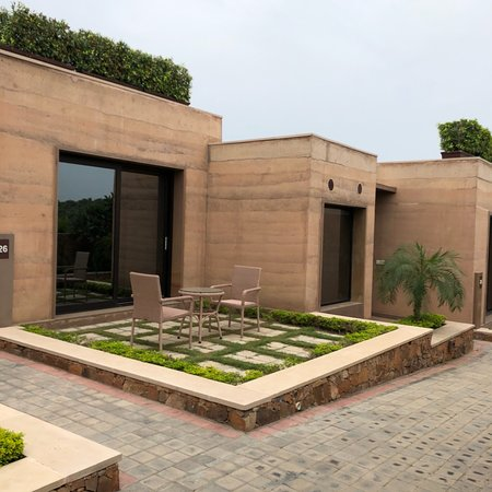 The Lalit Mangar: The Property is first of its class in and around Delhi NCR. Very picturesque setting around the