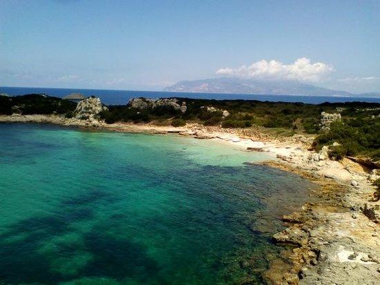 Isola di Pianosa: Porto romano di Pianosa