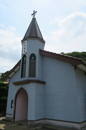 上五島で教会めぐり