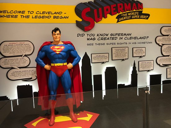Superman Exhibit
