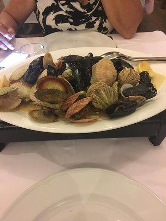 Restaurant Histria: Conchiglie miste