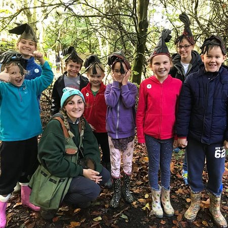 Knockholt, UK: Junior Falconry Club