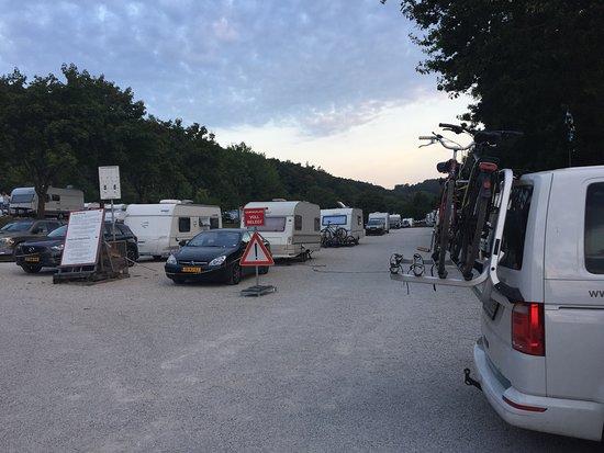 Greding, Deutschland: Camping area