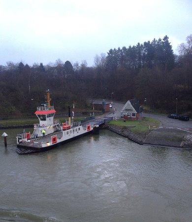 Brunsbuettel, Jerman: Nord Ostseekanal (Kiel Canal)