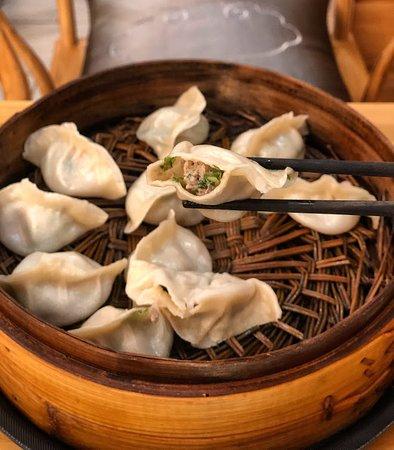 Qing Xiang Yuan Dumplings: Lamb & Coriander Soup Dumpling Order