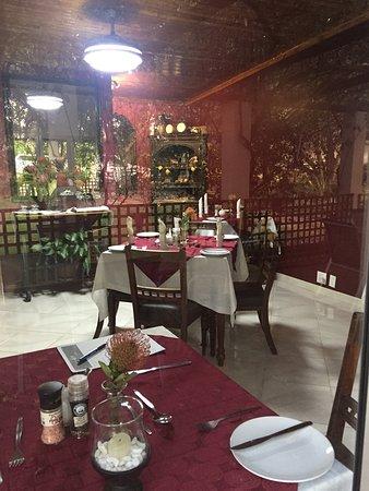 Piet Retief, Südafrika: Breakfast room