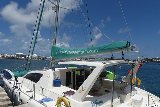 Sail Bermuda Private Charters: PIck-up at Salt Kettle