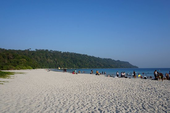 Radhanagar Beach: One of the best beaches I have been to