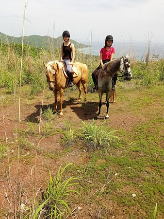 Perla Del Mar Equestrian Center: Mountain views of the Pacific Ocean
