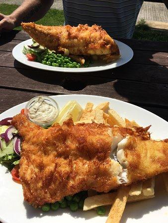 Upware, UK: Fish and Chips