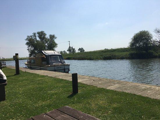 Upware, UK: The river