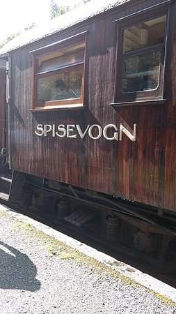 The Old Voss Steam Railway Museum-bild