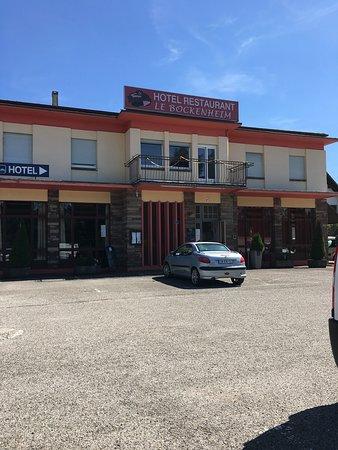 Sarre-Union, França: Vue extérieur du restaurant