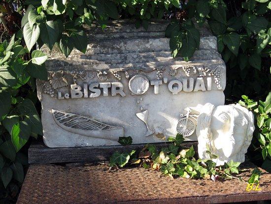 Esvres, France: entrée du restaurent