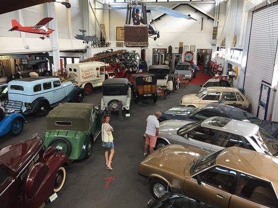 Lakeland Motor Museum: View from upstairs