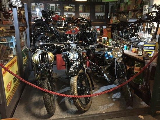 Lakeland Motor Museum: Lovely bikes