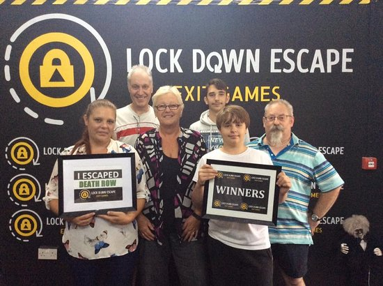 Lock Down Escape Exit Games