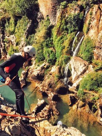 Saint-Andre-de-Sangonis, France : Canyoning au canyon du Diable