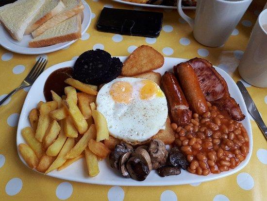 Chipping Sodbury, UK: Best brekky ever!!!