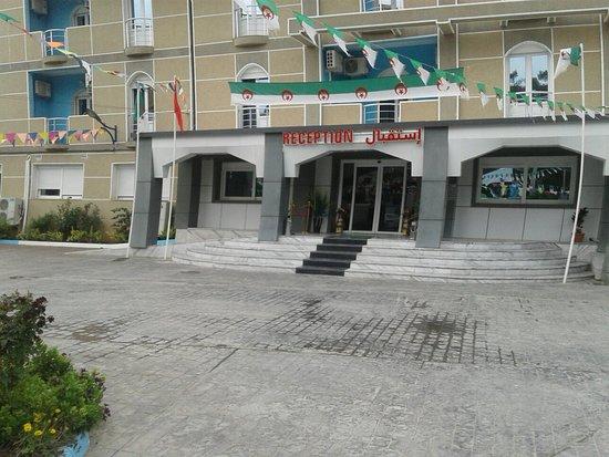 Bejaia Province, Algéria: Hotel tababort facade