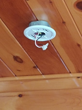 Missing Many Smoke Detectors Only Wiring Harness Hanging From