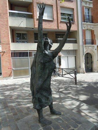 Statue d'Edith Piaf