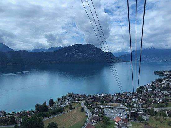 Rigi Kaltbad, Schweiz: Die Fahrt zur Rigi