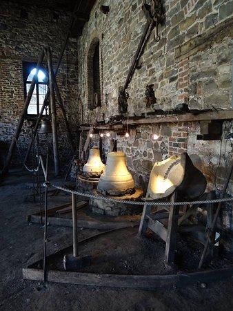 L'ancienne Fonderie de cloches de Tellin