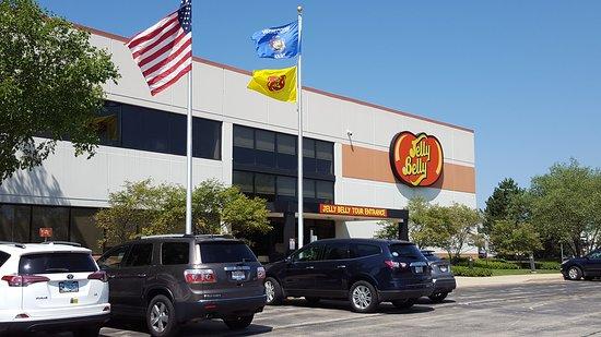 Pleasant Prairie, WI: Jelly Belly Tour Entrance