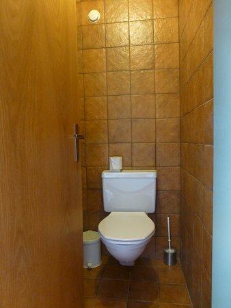 Bürserberg, Österreich: separate Toilette