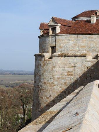 Tour St Jean sur les remparts de Langres