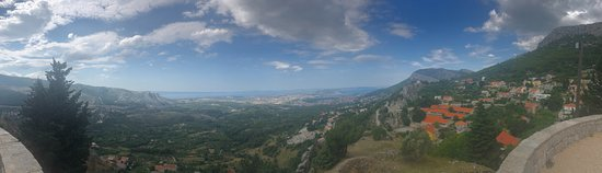 Klis, Kroatia: Great views!!