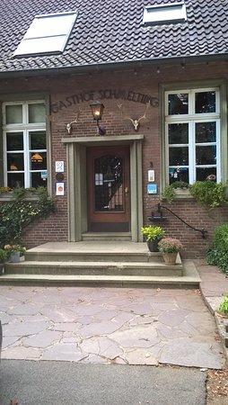 Reken, Tyskland: Eingang Gasthof Schmelting