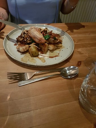 Attleborough, UK: Chicken
