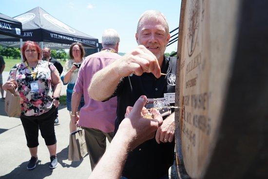 Wilderness Trail Distillery: Master distiller Shane Baker