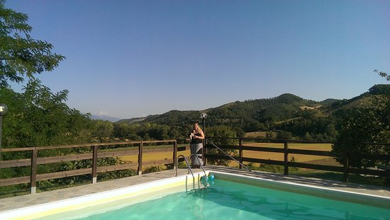 Costacciaro, Italie : Great pool, very refreshing