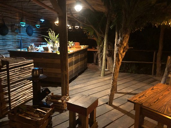 Kitchen Table Tulum Back Bar Area Picture Of Kitchen Table - Kitchen table tulum