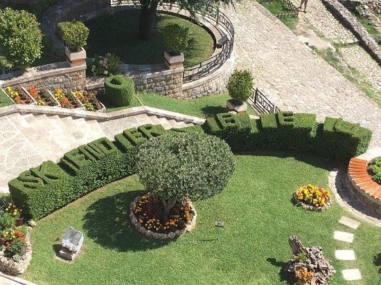 Kruja Castle: castle garden