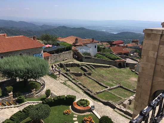 Kruja Castle: view from the museum top