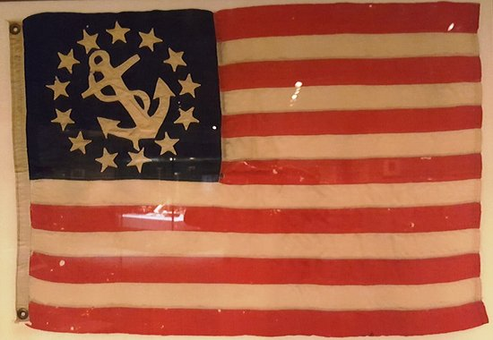 National Civil War Museum: US Navy flag